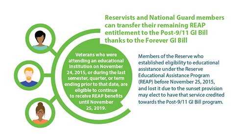 Gi Bill Transferrability Infographic