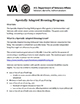 thumbnail Specially Adapted Housing Grant PDF