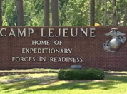 Camp Lenjeune gate