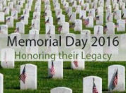 2016 Memorial Day Ceremonies