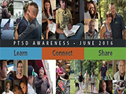 PTSD Awareness Month Banner