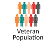 Veteran population illustration