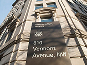 Veterans Affairs, 810 Vermont Ave sign