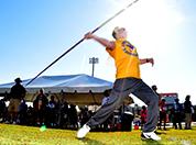 Veterans Golden Age javelin thrower