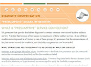 Presumptive Disability Compensation fact sheet