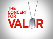 logo for The Concert for Valor