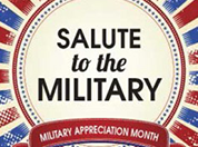 Military Appreciation Month logo