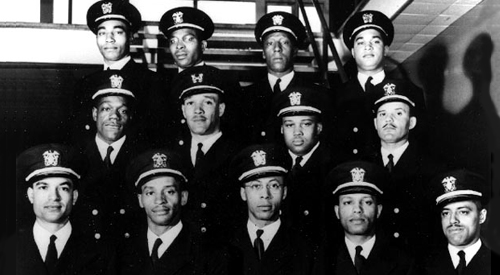 The Golden Thirteen, the first black commissioned and warrant officers in the U.S. Navy.