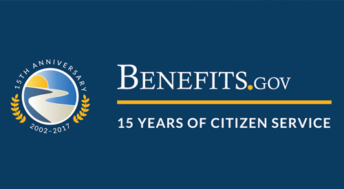 Benefits.gov 15 Year Anniversary