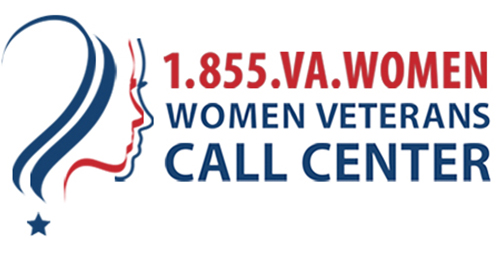 Women Veterans Call Center Logo
