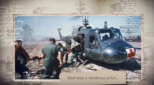U.S. Medevac helicopter, Vietnam