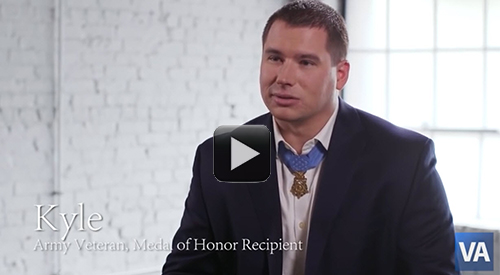 Medal of Honor recipient Kyle