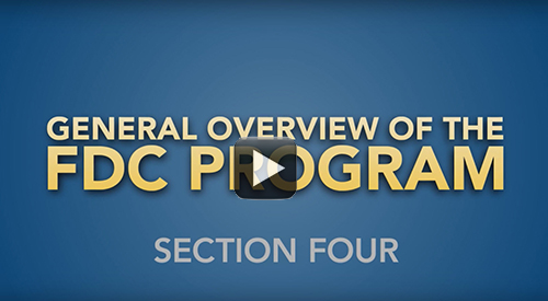 General Overview of the FDC Program