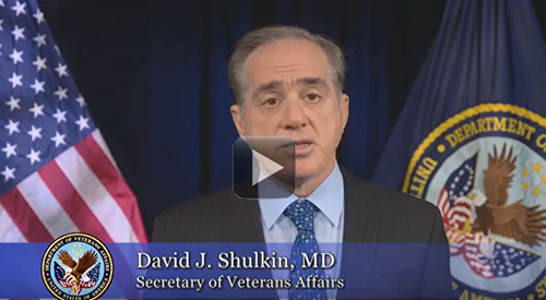 Dr. Shulkin, Secretary of Veterans Affairs