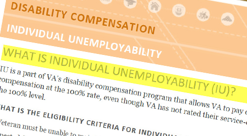 What is Individual Unemployability?