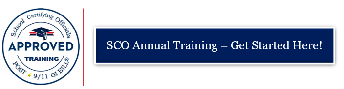 School Certifying Official Sco Training Education And Training