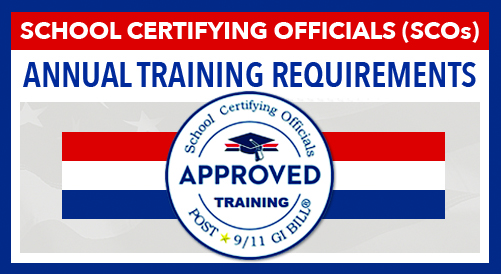 School Certifying Official Training