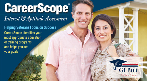 See the CareerScope Interest and Aptitude Assessment Tool
