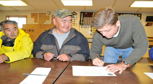 Alaskan Native Americans Learn About Home Loan Program