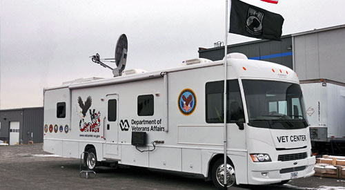 Vet Center mobile van
