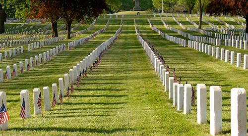 NCA cemetery
