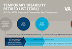 Temporary Disability Retired List Insurance Timeframes